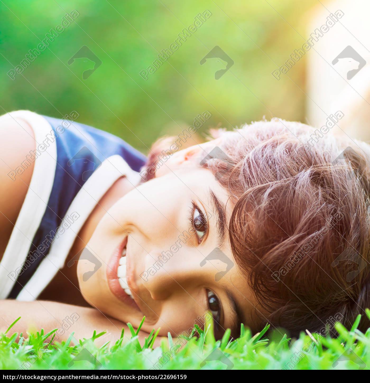 happy, boy, outdoors - 22696159