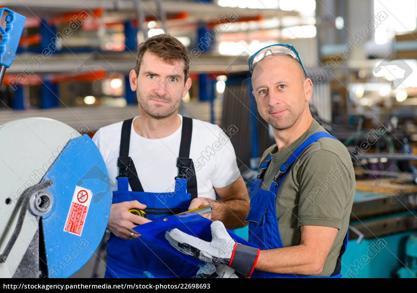 two, worker, in, factory - 22698693