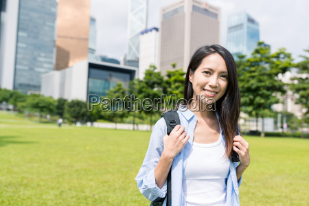 woman, in, hong, kong - 22700585