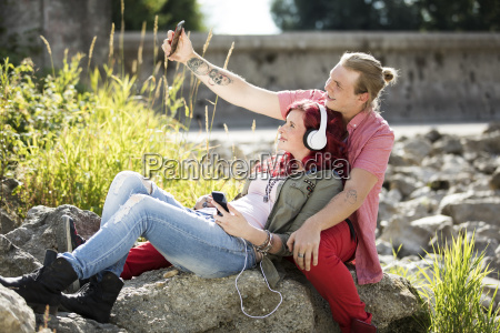 young, couple - 22712681