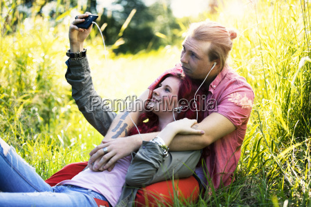 young, couple - 22712707