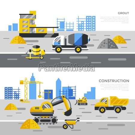 vettore digitale costruzione nera tracce icone