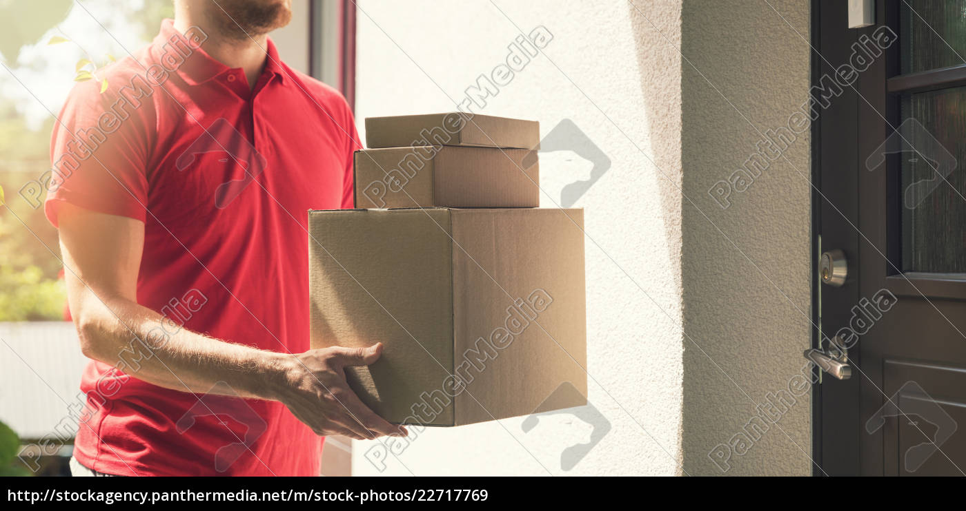 home, delivery, service, -, deliveryman, with - 22717769