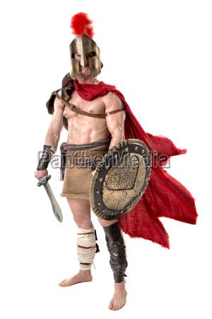 battaglia spada arma romano guerriero combattimento