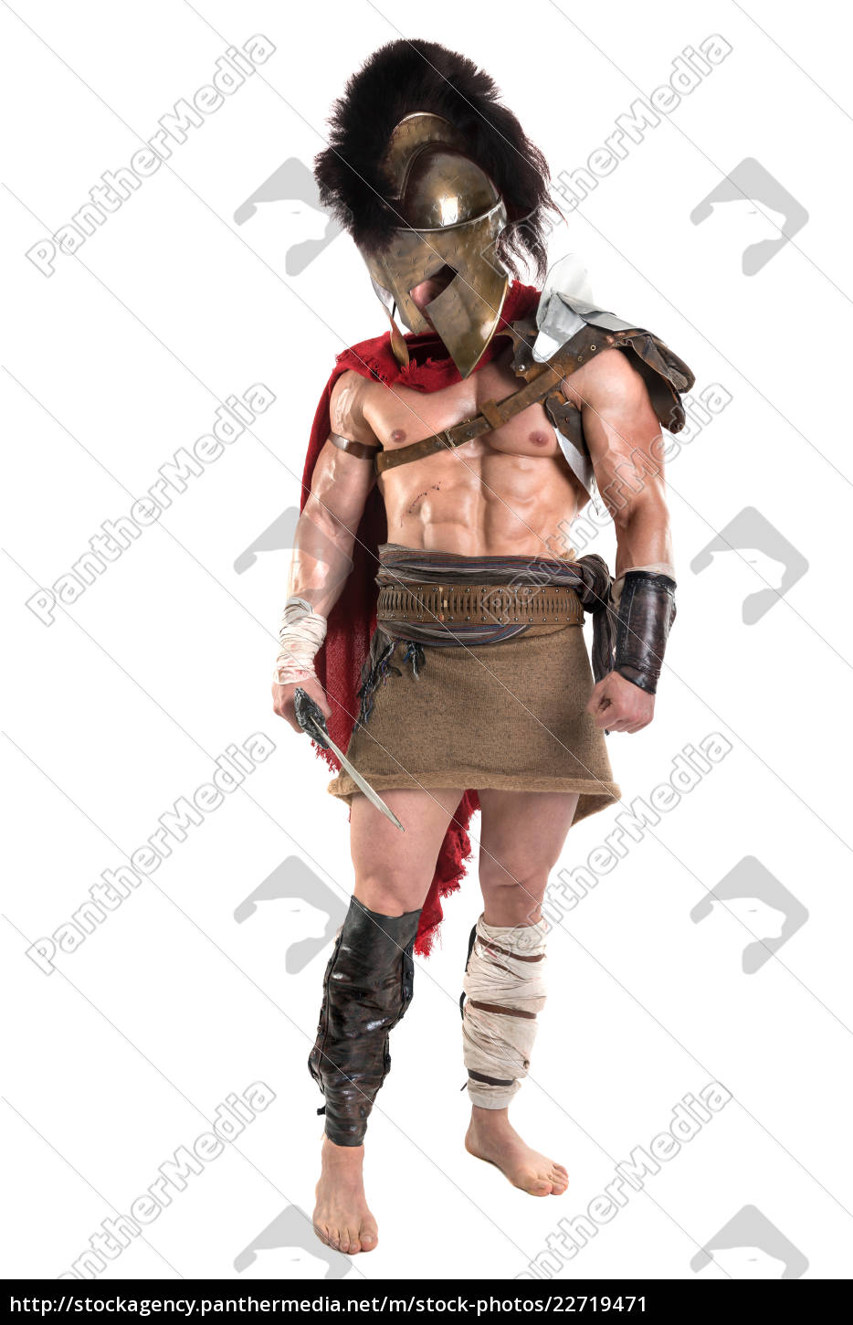 ancient, soldier, or, gladiator - 22719471