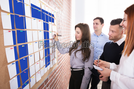 business people planning information technology