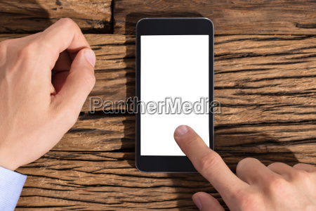 businessperson, using, smart, phone - 22721253