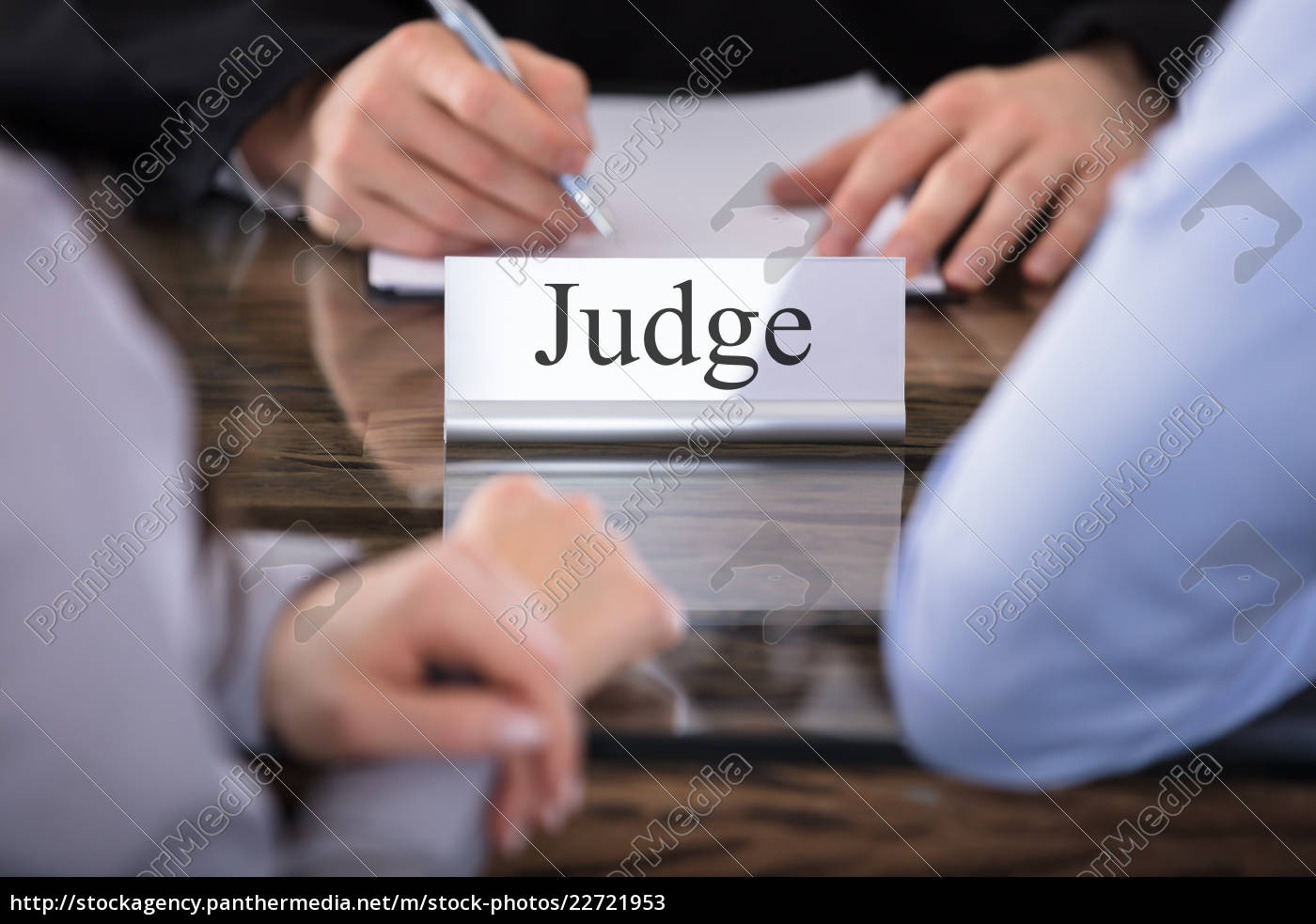 judge, name, plate, on, desk - 22721953