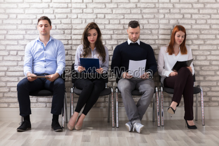 people, waiting, for, job, interview - 22721293