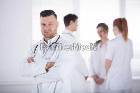portrait, of, professional, male, doctor - 22721975