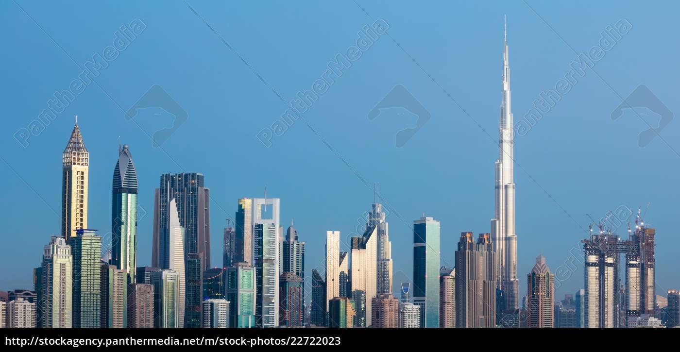 dubai, skyline, , uae - 22722023