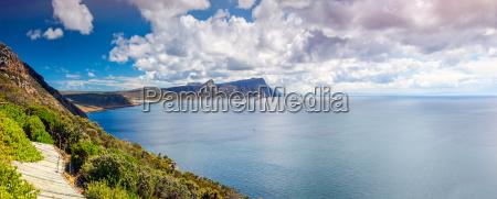 beautiful ocean panoramic view