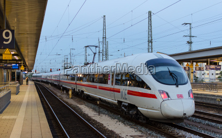 high speed train ice t of