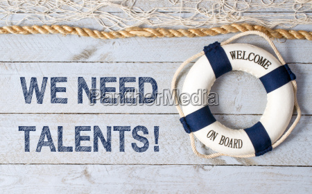 we need talents welcome on