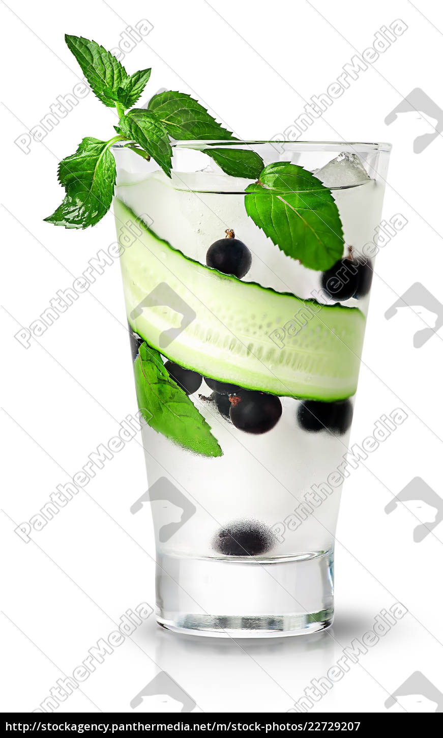 cucumber, currant, and, mint, lemonade - 22729207
