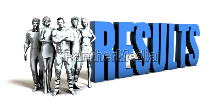 results business concept