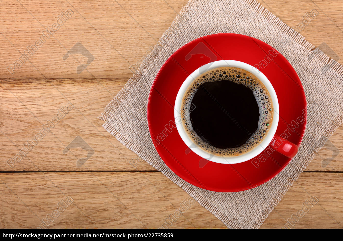 full, cup, of, black, coffee, in - 22735859