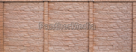 clinker wall or brick wall detail
