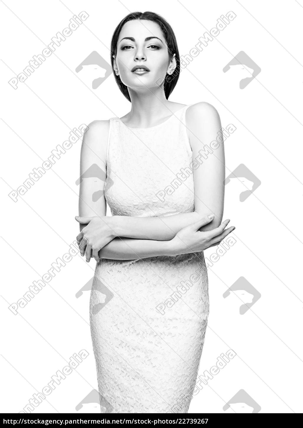 the, colorless, portrait, of, business, woman - 22739267