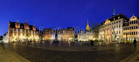 germany bavaria coburg market square with