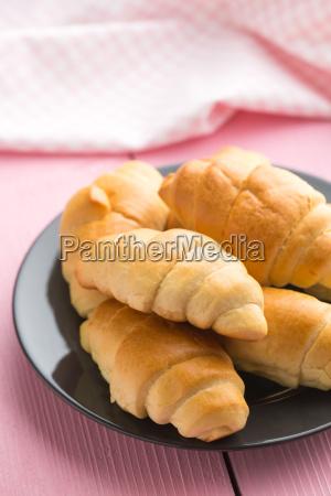sweet tasty croissants