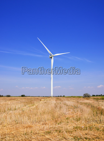 windmill in a field against a