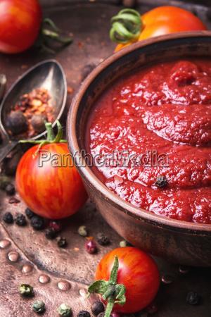 tomat ketchup sauce