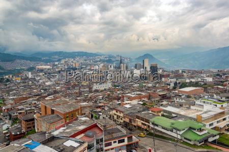 manizales colombia cityscape
