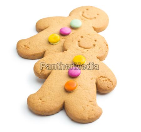 two sweet gingerbread men