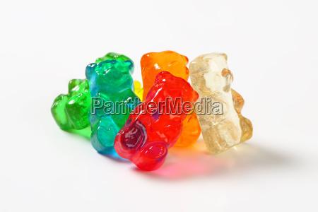 fruit flavored gummy bears