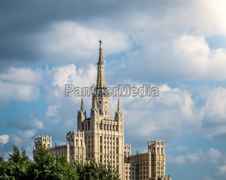 one of moscows famous highrises
