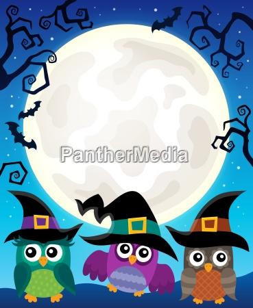 halloween, image, with, owls, theme, 4 - 22799782
