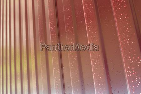 metal profile diagonal pattern of metal