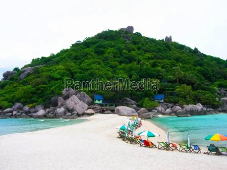 beautiful beach koh tao thailand