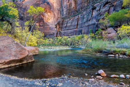 virgin river zion national park