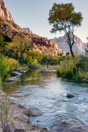 late afternoon at the virgin river