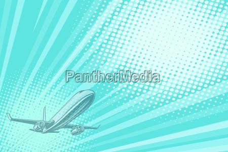 takeoff aviation background flight journey