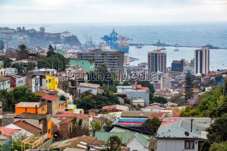 valparaiso city and port