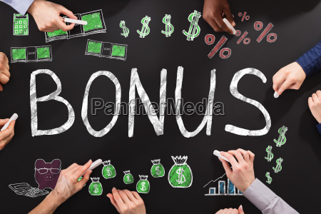 bonus, and, employee, compensation, concept - 22900547