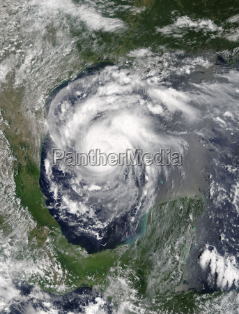 hurricane harvey viewed from space elements