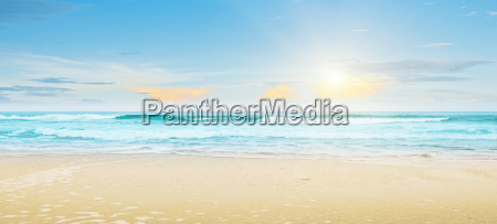 tropical beach summer landscape