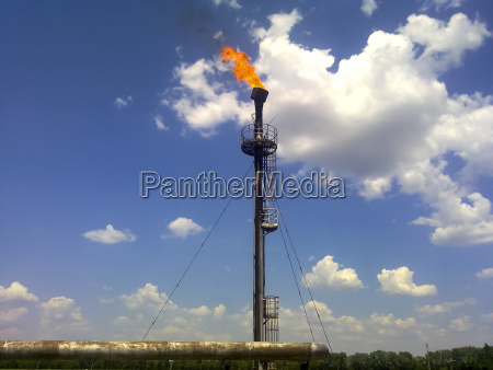 flare for flaring associated gas the