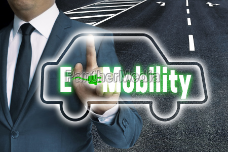 e mobility touchscreen is operated by
