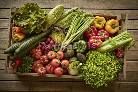 still life fresh organic healthy vegetable