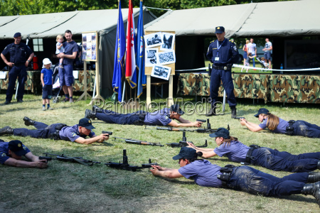 26th anniversary of the croatian armed