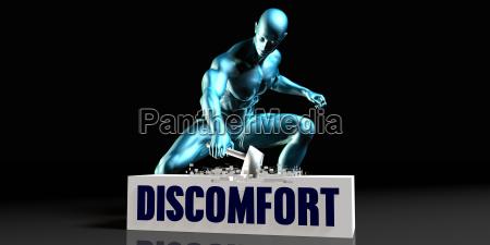get rid of discomfort