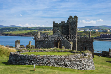 peel castle peel isle of man
