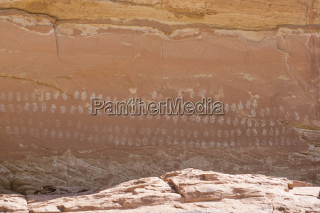 100 hands pictograph panel grand staircase