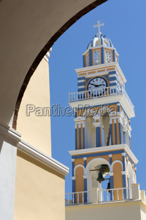 belltower of the catholic cathedral church