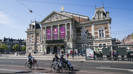 the concertgebouw neoclassical concert hall amsterdam